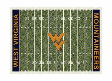 "West Virginia 3'10"" x 5'4"" Premium Field Rug"