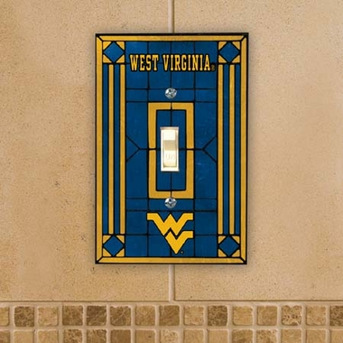 West Virginia Art Glass Lightswitch Cover