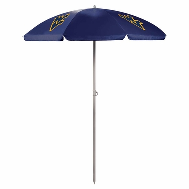 West Virginia Beach Umbrella (Navy)