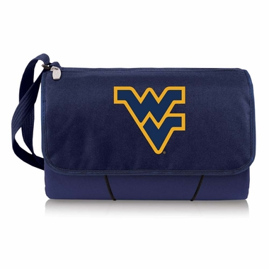 West Virginia Blanket Tote (Navy)