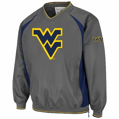 West Virginia Charcoal Hardball Pullover Jacket