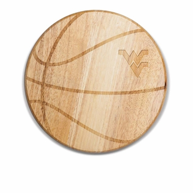West Virginia Free Throw Cutting Board