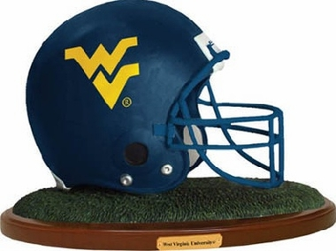 West Virginia Helmet Figurine