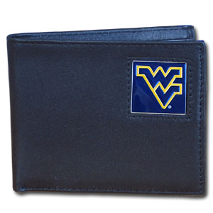 West Virginia Leather Bifold Wallet (F)