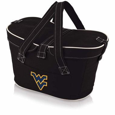West Virginia Mercado Picnic Basket (Black)