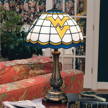 West Virginia Stained Glass Table Lamp