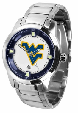 West Virginia Titan Men's Steel Watch
