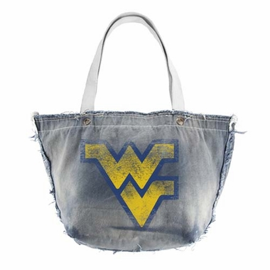 West Virginia Vintage Tote (Denim)