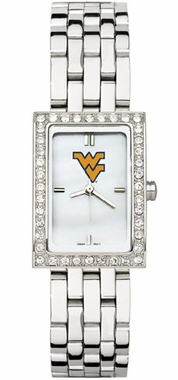 West Virginia Women's Steel Band Allure Watch