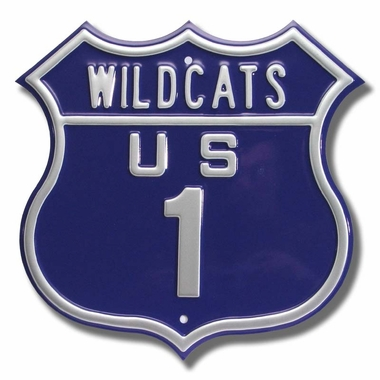 Wildcats / 1 Route Sign