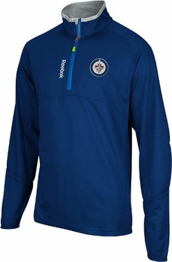 Winnipeg Jets Baselayer 1/4 Zip Performance Sweatshirt
