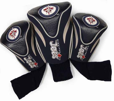 Winnipeg Jets Set of Three Contour Headcovers