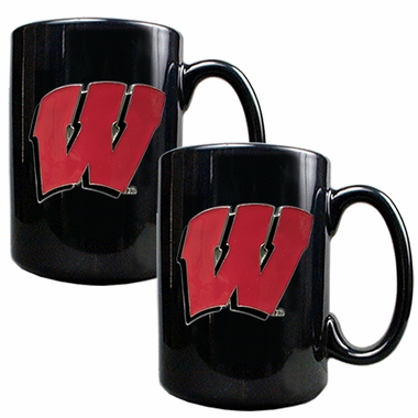 Wisconsin 2 Piece Coffee Mug Set