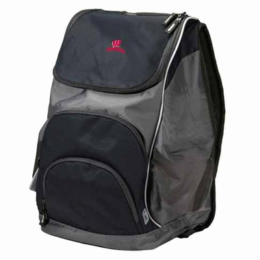 Wisconsin Action Backpack (Color: Black)