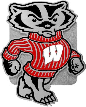 Wisconsin Badgers Bucky Hitch Cover Class 3