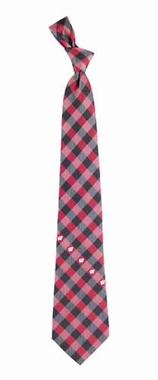 Wisconsin Check Poly Necktie
