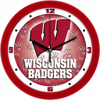 Wisconsin Dimension Wall Clock