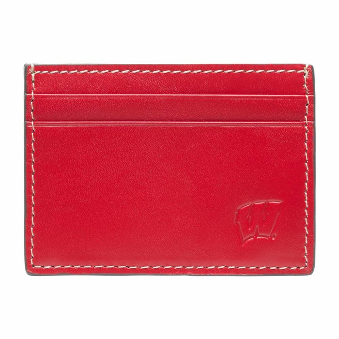 Wisconsin gameday id window card case for 2 id window wallet