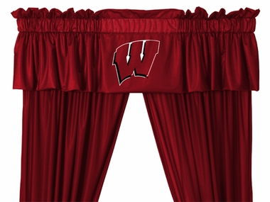 Wisconsin Logo Jersey Material Valence