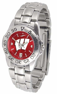 Wisconsin Sport Anonized Women's Steel Band Watch