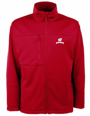 Wisconsin Mens Traverse Jacket (Color: Red)