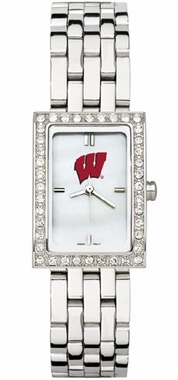 Wisconsin Women's Steel Band Allure Watch