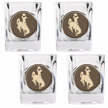 Wyoming 4 Piece Shot Glass Set