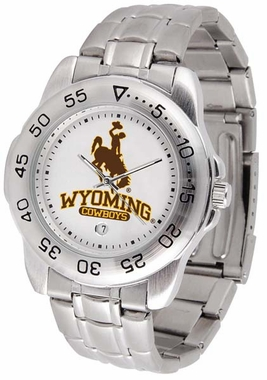 Wyoming Sport Men's Steel Band Watch