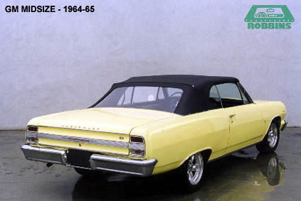 1964-1967 GM Mid Size Convertible Tops