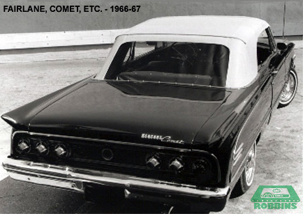 1966-1971 Ford Mid Size cars