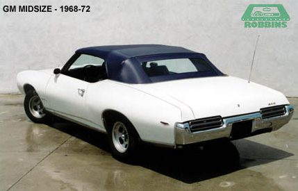 1968-1972 GM Mid Size Cars