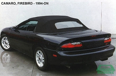 1994-2002 CAMARO REAR GLASS WINDOW