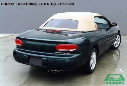 1996-2002 Chrysler Sebring