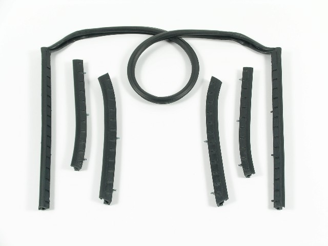64 1/2-68 Mustang Convertible Top Weatherstrip