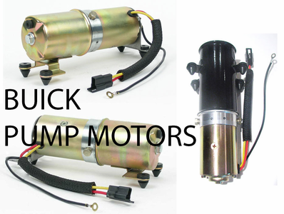 Buick Convertible Top Pump Motors