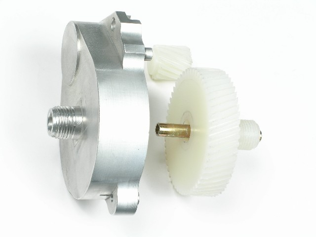 GM Full Size Convertible Top Gear Housing and Nylon Gears, Used, 1971-1976 GM Full Size