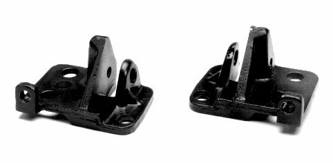 Mustang Latch Mount Bases, 64-66