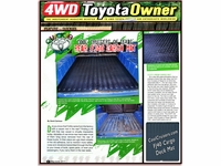 4WD Toyota Owners Article - CCOT's Cargo Deck Mat
