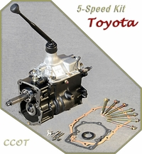 5 Speed Toyota Kit - H55F - w/Shifter & Gasket Kit