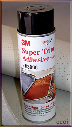 Adhesive Spray Glue - Super Trim 3M Adhesive 19oz ORM-D