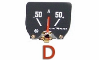 Ammeter Gauge - TOYOTA - No Return