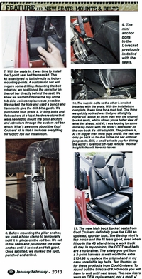 Article 4WD Toyota Owner Mag Pg #3 - Seat Conversion