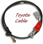 Battery Cable - Positive - FJ60 - 8/80-8/87 - Toyota