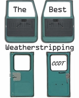 "CCOT's  NEW High Density  Weatherstripping - ""BEST""  W/S"