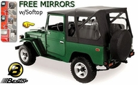 Bestop Supertop® - FJ40 & BJ40 - '63 to '84 ~ Free Mirrors