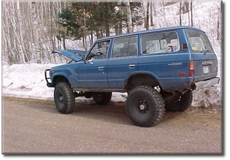 "Blue FJ60, Tadd Haug, SO 36"" TSL's ARB f/r"