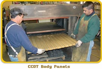 Body Tub Panel Fender