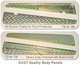 Body Running Boards