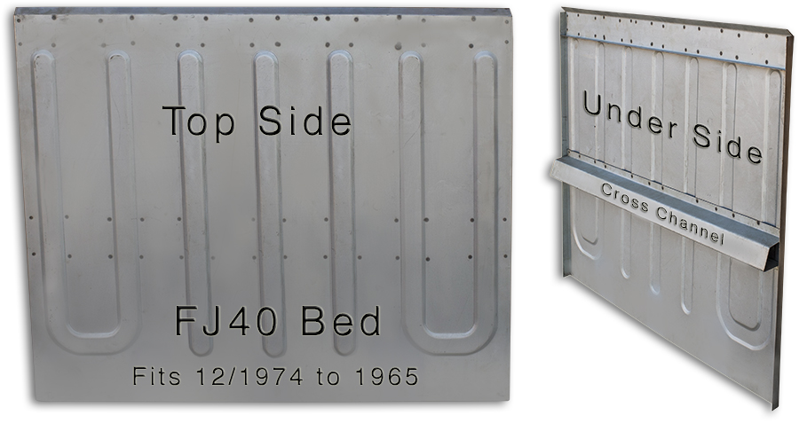 Body, Tub Bed 74 to 1965