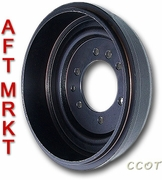 Brake Drum High Qlty - 1ea -  8/80-1/90 - Aft Mrkt